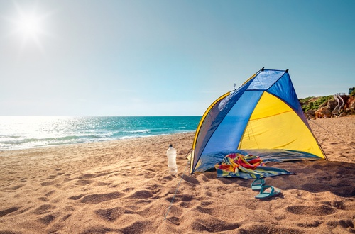 Why You Need a Beach Shade Tent?