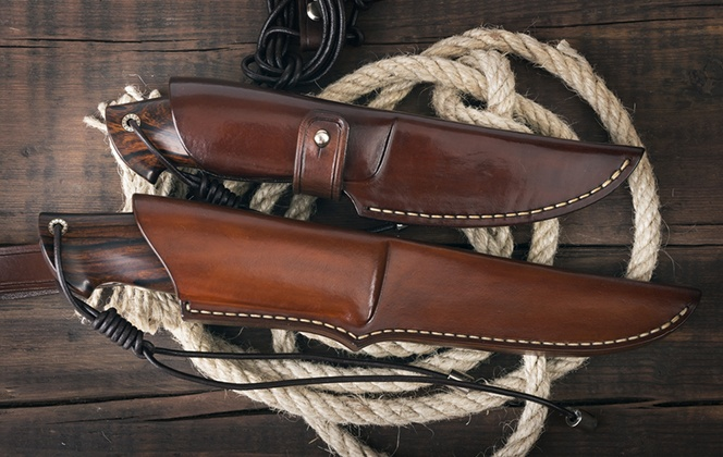 boot knife and sheath