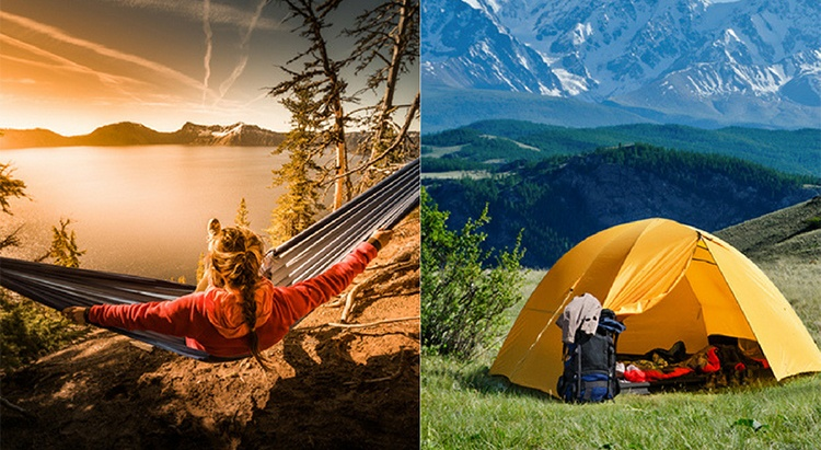 Sleeping Under the Stars, Or Tucked in and Protected – Hammock vs. Tent