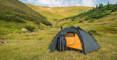 Instant Backpacking Tent