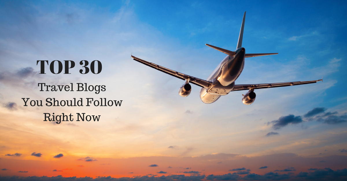 TOP 30 travel blogs