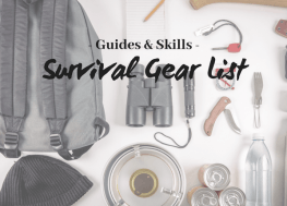 The Ultimate Survival Gear List for all Thrill Seekers!