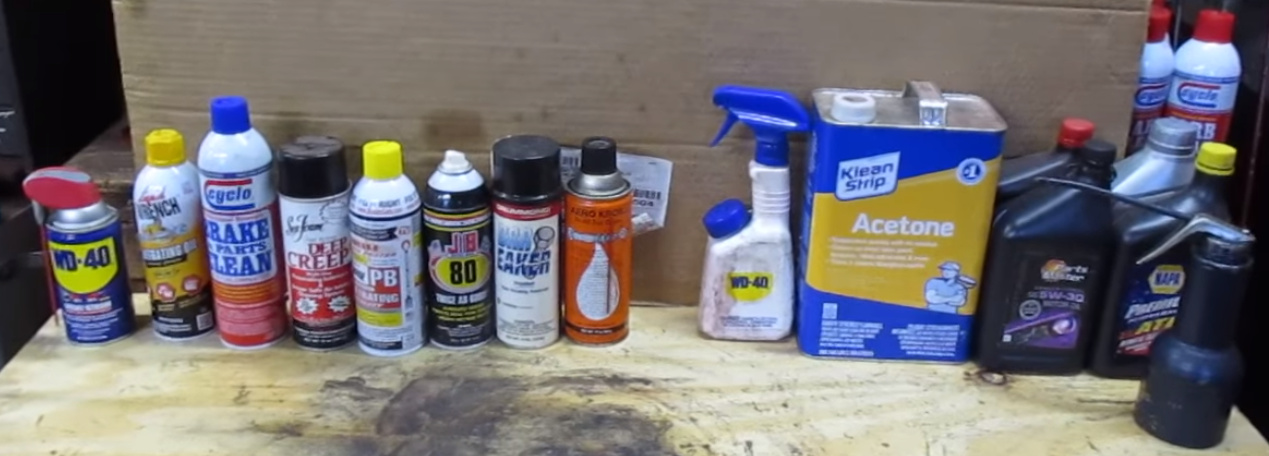 Common Additives In Penetrating Oils