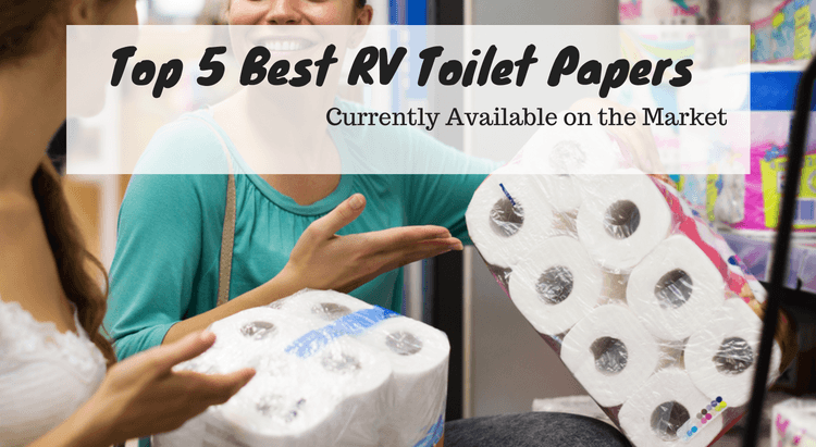 Top 5 Best RV Toilet Papers Currently Available on the Market