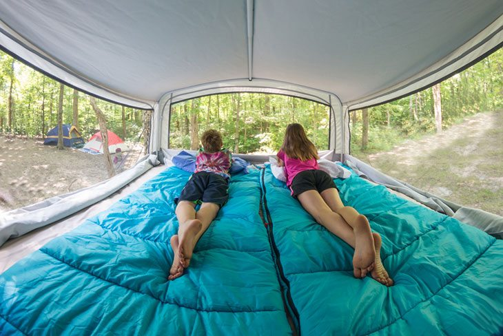 Pop-up Campers with Bathrooms: All You Need to Know